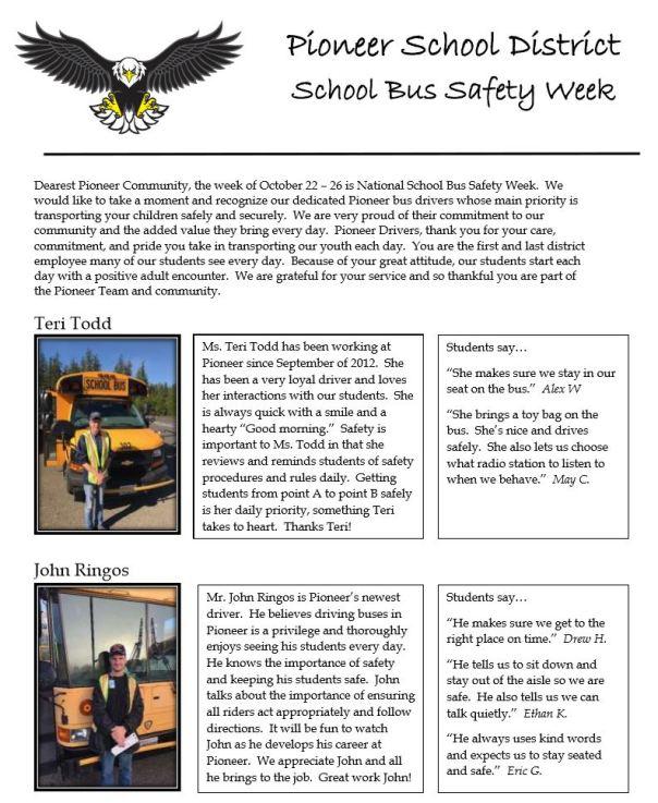 Bus Week Day 2